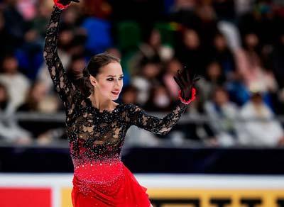 アリーナ・ザギトワ2018GPロシア大会FS