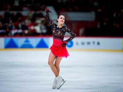 アリーナ・ザギトワ2018GPフィンランド大会FS