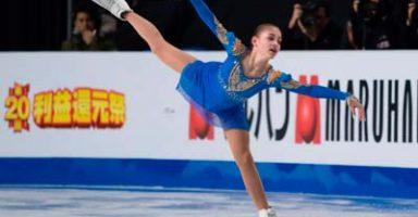 アリーナ・ザギトワ2019欧州選手権SP