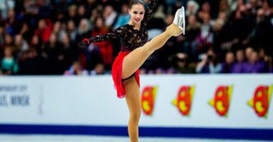 アリーナ・ザギトワ2019欧州選手権FS