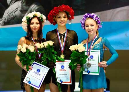 エフゲニア・メドベージェワ2019ロシアカップファイナル優勝